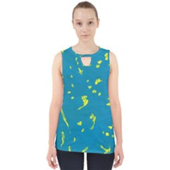 Starry Sky Cut Out Tank Top by arash1