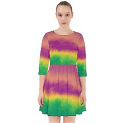 Ombre Smock Dress by ValentinaDesign
