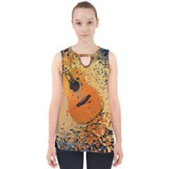 Acoustic Rock Cut Out Tank Top by TRENDYcouture