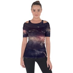 Face Light Profile Short Sleeve Top by amphoto