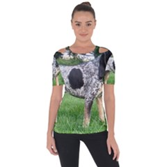 Bluetick Coonhound Full Short Sleeve Top by TailWags