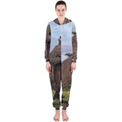 Komodo Dragons Fight Hooded Jumpsuit (ladies)