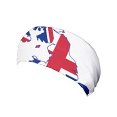 Britain Flag England Nations Yoga Headband by Mariart