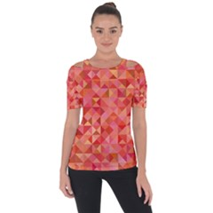 Mosaic Pattern 6 Short Sleeve Top by tarastyle