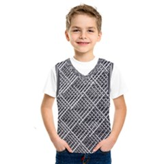 Grid Wire Mesh Stainless Rods Kids  Sportswear by Nexatart