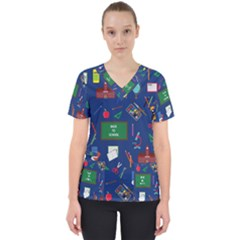 Back To School Scrub Top by Valentinaart