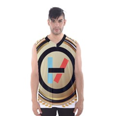 Twenty One Pilots Shield Men s Basketball Tank Top by Onesevenart