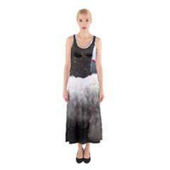 Sealyham Terrier Full 2 Sleeveless Maxi Dress