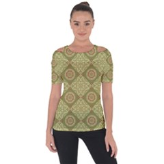 Oriental Pattern Short Sleeve Top by ValentinaDesign