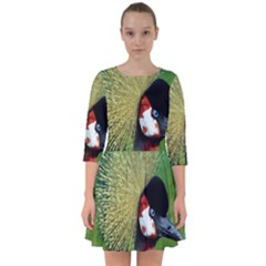 Bird Hairstyle Animals Sexy Beauty Smock Dress by Mariart