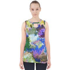 Color Mix Canvas                           Cut Out Tank Top by LalyLauraFLM
