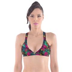 Squiggly Abstract B Plunge Bikini Top
