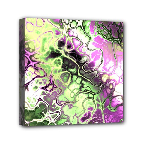 Awesome Fractal 35d Mini Canvas 6  X 6  by MoreColorsinLife