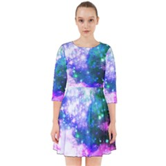 Space Colors Smock Dress by ValentinaDesign