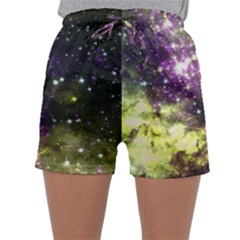 Space Colors Sleepwear Shorts by ValentinaDesign
