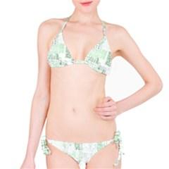 Abstract Art Bikini Set
