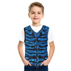 Skin2 Black Marble & Deep Blue Water (r) Kids  Sportswear by trendistuff