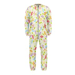 Flower Rainbow Sexy Leaf Plaid Vertical Horizon Onepiece Jumpsuit (kids) by AnjaniArt