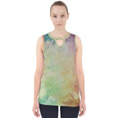 Painted Canvas                                 Cut Out Tank Top by LalyLauraFLM