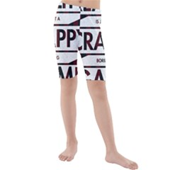 Reality Is Just A Crappy  Boring Game Kids  Mid Length Swim Shorts by Celenk