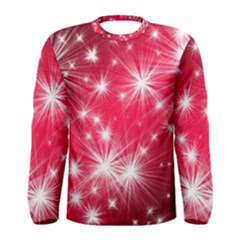 Christmas Star Advent Background Men s Long Sleeve Tee by Celenk