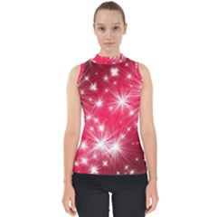 Christmas Star Advent Background Shell Top by Celenk