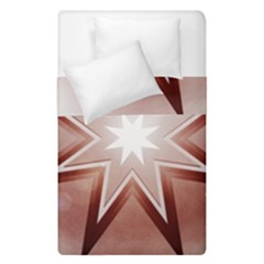 Star Christmas Festival Decoration Duvet Cover Double Side (single Size) by Celenk