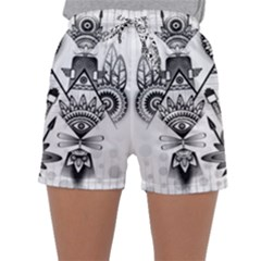 Ancient Parade Ancient Civilization Sleepwear Shorts by Celenk