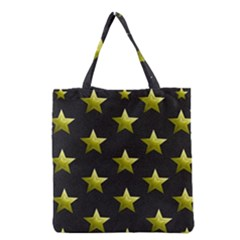 Stars Backgrounds Patterns Shapes Grocery Tote Bag