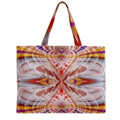 Heart   Reflection   Energy Zipper Mini Tote Bag