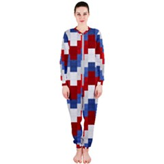 Texture Textile Surface Fabric Onepiece Jumpsuit (ladies)