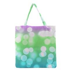 Soft Lights Bokeh 2 Grocery Tote Bag