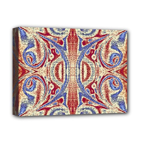 Symbols Pattern Deluxe Canvas 16  X 12   by Cveti