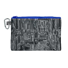 Venice Italy Gondola Boat Canal Canvas Cosmetic Bag (large)
