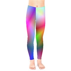 Course Gradient Background Color Kids  Legging by BangZart