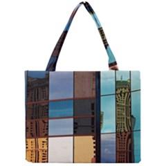 Glass Facade Colorful Architecture Mini Tote Bag