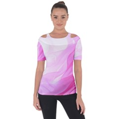 Material Ink Artistic Conception Short Sleeve Top by BangZart