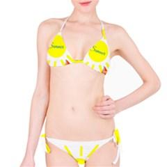 Summer Beach Holiday Holidays Sun Bikini Set