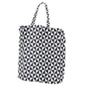 Triangle Pattern Simple Triangular Giant Grocery Zipper Tote View1