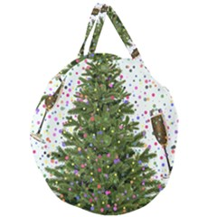 New Year S Eve New Year S Day Giant Round Zipper Tote