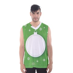 Christmas Bauble Ball Men s Basketball Tank Top by BangZart