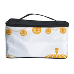 Pumpkin Halloween Deco Garland Cosmetic Storage Case by BangZart