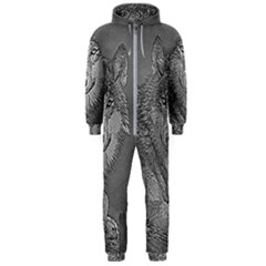 Wolf Forest Animals Hooded Jumpsuit (men)