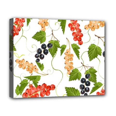 Juicy Currants Deluxe Canvas 20  X 16   by TKKdesignsCo