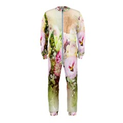 Flowers Bouquet Art Abstract Onepiece Jumpsuit (kids) by Celenk
