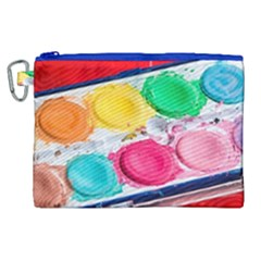 Palette Brush Paint Box Color Canvas Cosmetic Bag (xl) by Celenk