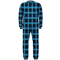 Deep Sea Tartan Onepiece Jumpsuit (men)  by jumpercat