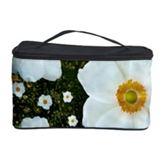 Summer Anemone Sylvestris Cosmetic Storage Case by Nexatart