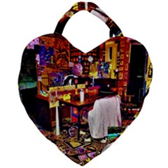 Apt Ron N Giant Heart Shaped Tote by MRTACPANS