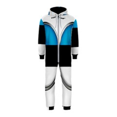 Estonia Country Flag Countries Hooded Jumpsuit (kids) by Nexatart